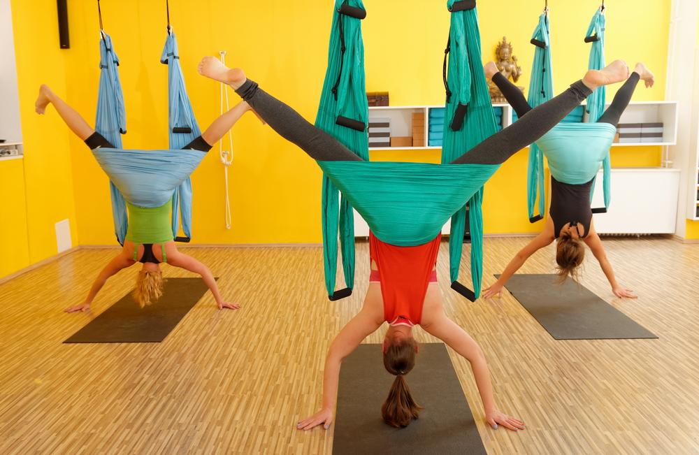 AntiGravity® Aerial Yoga – Renae Stevens
