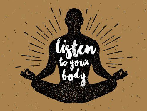 Lắng nghe cơ thể